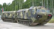 Russian Military DT-30 Vityaz Articulated Tracked Vehicle