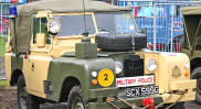 British Military Police Land Rover