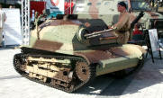 WWII TK5 ArmyTankette from Poland